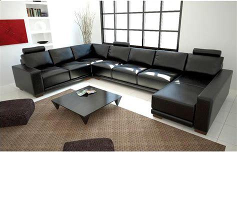 modern bonded leather sectional sofa dreamfurniture com 1001 modern bonded leather