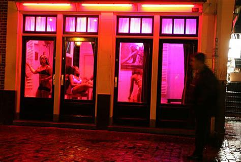 Amsterdam draws curtain on  industry as red light windows close   Daily Mail Online