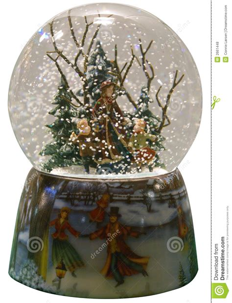 winter snowglobe royalty free stock photos image 2661448