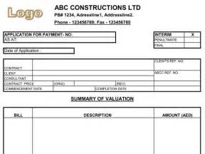 construction payment certificate template progress payment certificate template rabitah net