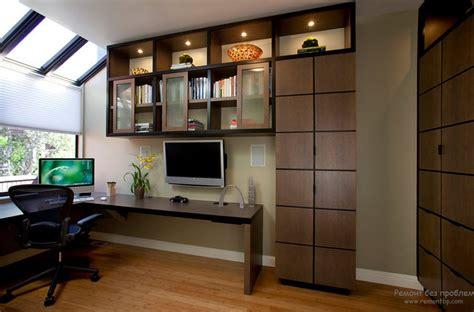 home office cabinet design ideas мебель для домашнего кабинета в дизайне интерьера на фото