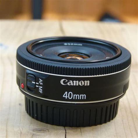 Canon Lens Ef 40mm F2 8 Stm used canon ef 40mm f2 8 stm pancake lens