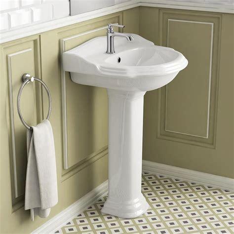 Superbe Lavabo Retro Salle De Bain #1: -lavabo-colonne-58x89-cm-laetitia.jpg