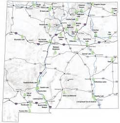 new mexico map emnrd state parks division