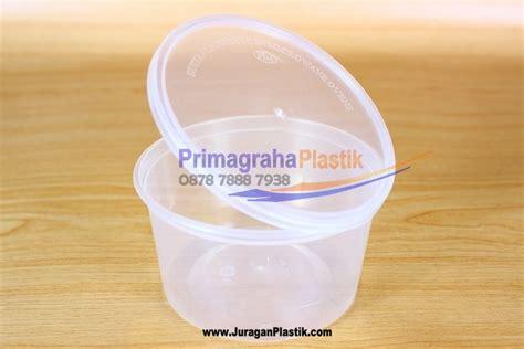 Plastik Cup Cangkir Puding Tahan Panas Untuk Microwave Oven 300 Ml Tutup mangkok tutup plastik oven home