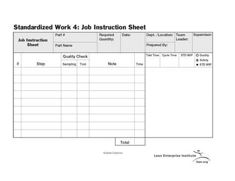 4 Free Job Sheet Templates Word Excel Pdf Formats