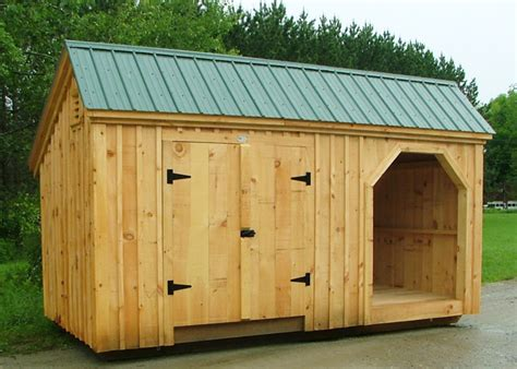 Wood Shed Kits For Sale by Large Shed Plans Shed With Wood Storage Wooden Storage