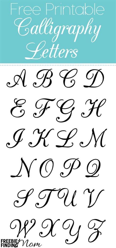 Printable Stencil Letters   Template Design