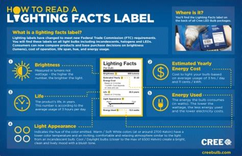 Lighting Facts by Led Light Bulb Questions Infographics Such To