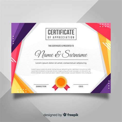 merit badge award card template award certificate vectors photos and psd files free