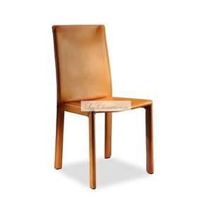 chaise en cuir pour la salle 224 manger elisa fabriqu 233 e par
