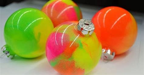 how to make medium size ornaments out of construction paper how to make neon marble ornaments hometalk