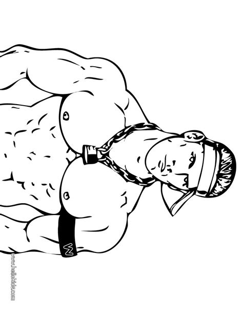 wrestling coloring pages john cena