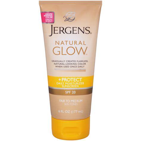 Sunblock Baby Glow jergens glow protect daily moisturizer medium to skin tones spf 20 6 fl oz 177 ml