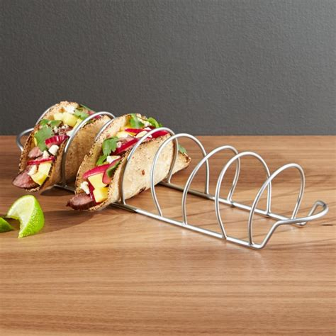 taco rack reviews crate  barrel