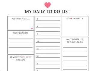 To Do List Planner Template by To Do List Planner To Do List Template