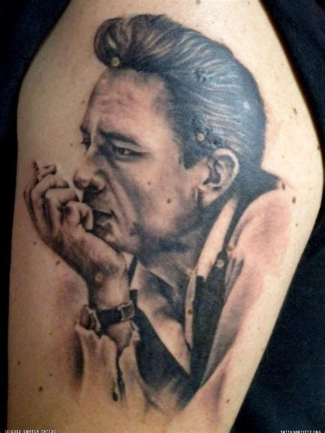 johnny cash tattoos johnny johnny