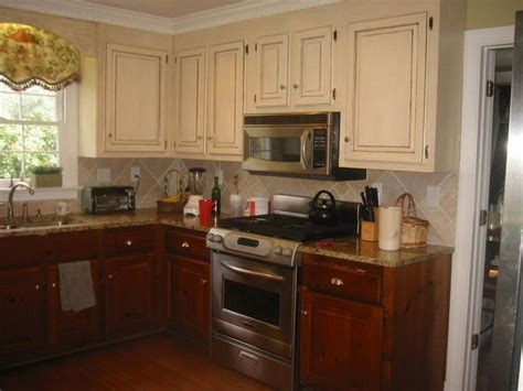 kitchen cabinets white and brown 50 best images about two tone cabinets on two