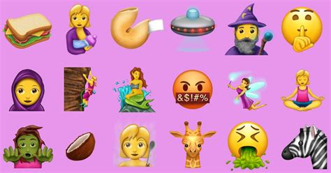 emoji new new emojis coming soon www pixshark com images