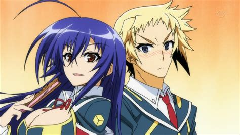 medaka box zenkichi and medaka medaka box photo 37216870 fanpop