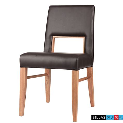modern restaurant furniture leather ikea scandinavian modern design solid wood dining