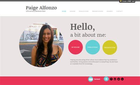 Tools For Creating Your Digital Portfolio Librarian Enumerations Free Eportfolio Templates