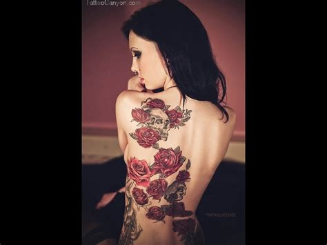 tattoos of roses on back tattoos of roses on back design idea for and