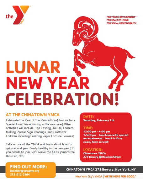 new year celebrations saturday chinatown y offers free lunar new year celebration on