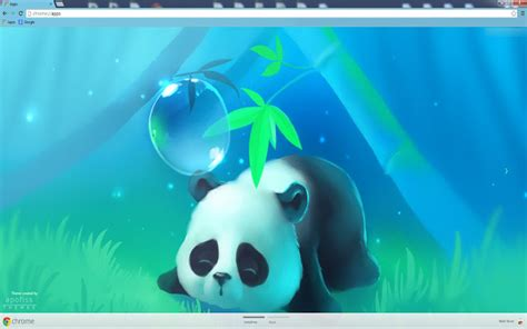 Theme Google Chrome Panda | bamboo panda chrome web store