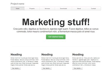 bootstrap marketing template bootstrap cms live demo features 10 site layouts