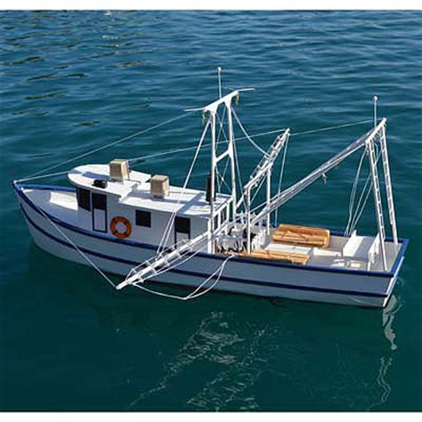 rusty the shrimp boat kit 36 rc wooden scale powered - Rc Shrimp Boat Kit