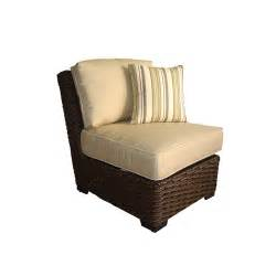 Allen Roth Patio Furniture by Allen Roth Blaney Wicker Patio Chair Amp End Table From