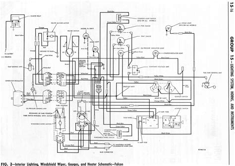 ford bf stereo wiring diagram autocurate net