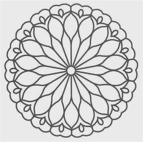 Printable Coloring Pages Mandala Free Coloring Pages