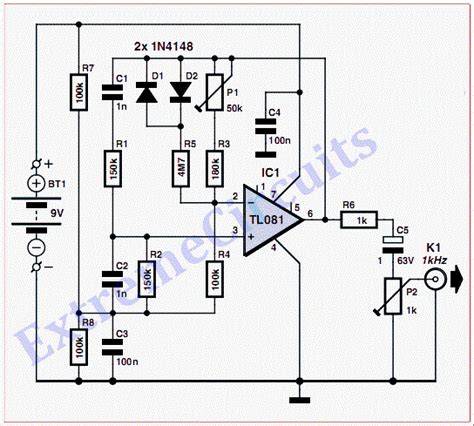 series test l circuit diagram circuit diagram test beeper circuit for your stereo