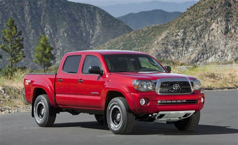 Toyota Recalls Toyota Recalls 690 000 Tacomas For Faulty Leaf Springs