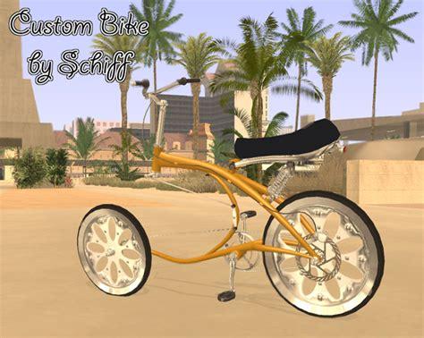 custom bike 187 gta san andreas 187 bici 187 gta expert it area