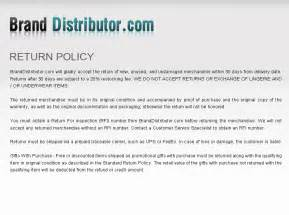 Return Policy Template by Return Policy Template Playbestonlinegames