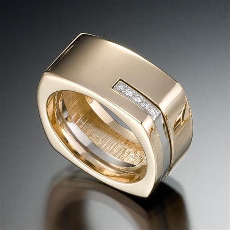 Best 25  Mens gold rings ideas on Pinterest   Mens wedding