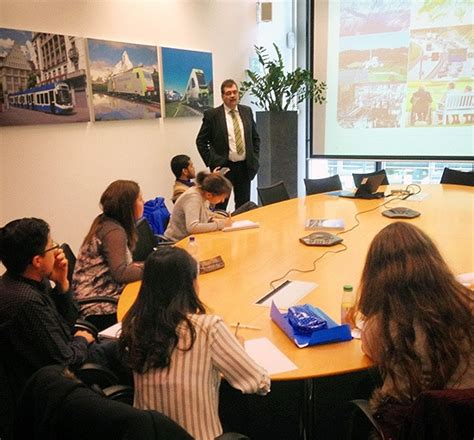 Sbs Swiss Business School Mba by Company Visit To Bombardier Transportation Switzerland