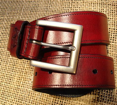 Custom Handmade Leather Belts - leather handmade belt leather belt belt handmade belt