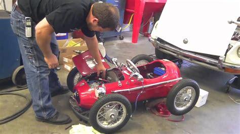 Go Kart Ferrari by 1952 Ferrari F2 Go Kart Test 1 Youtube