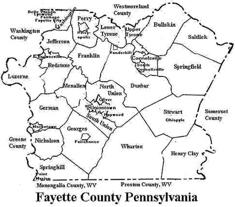 Fayette County Pa Records Michael Cooley S Genealogy Pages Ahnentafel 36 Index Html