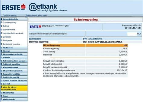 erste bank netban otp simple vedd kezedbe a p 233 nz 252 gyeidet