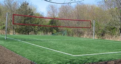 backyard volleyball court backyard volleyball court for the home pinterest