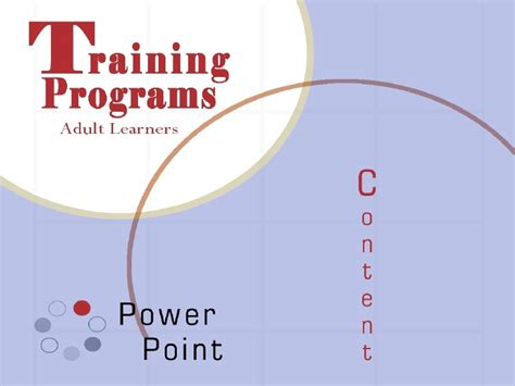 Andragogy Learning Theory Mba by Learners Powerpoint