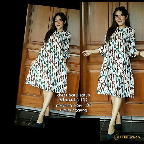 Baju Batik Batik Ayusari Blus Parang 2 dress batik parang elevenia
