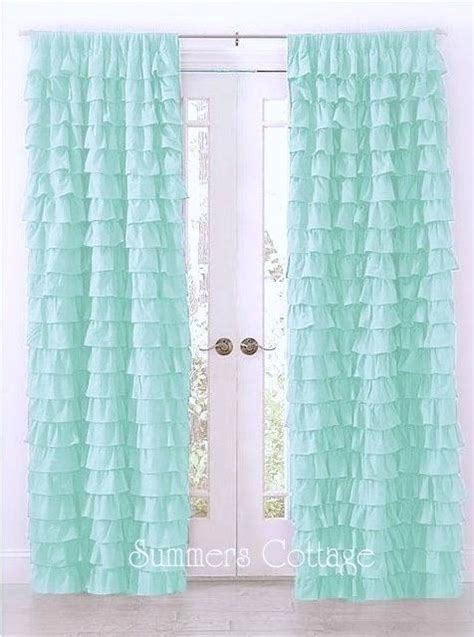 ruffle bedroom curtains twin pack ruffle curtains top drapes rod pocket 40 quot x 84