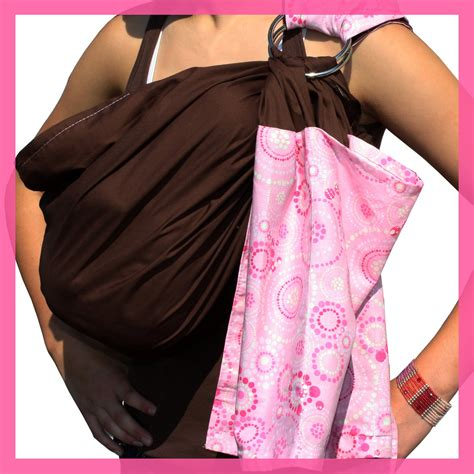 Mimi Ring Sling Motif baby ring sling sewing pattern instant