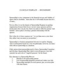 Sponsorship Executive Cover Letter by 40 Sponsorship Letter Sponsorship Templates